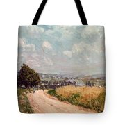 Turning Road Tote Bag