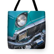 Turquoise 1956 Belair Tote Bag