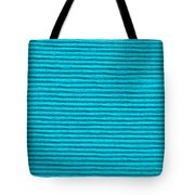 Turquoise Cloth Tote Bag