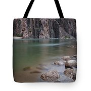 Turquoise Colorado River Tote Bag