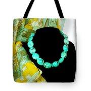 Turquoise Fashion Tote Bag