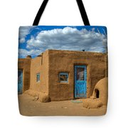 Turquoise Haven Tote Bag