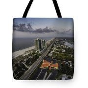 Turquoise Place At Dawn Tote Bag