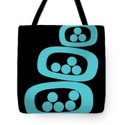 Turquoise Pods Tote Bag