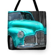 Turquoise Power  Tote Bag