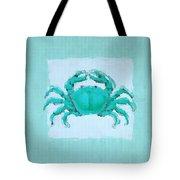 Turquoise Seashells I Tote Bag