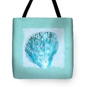 Turquoise Seashells Vii Tote Bag
