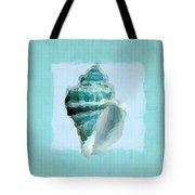 Turquoise Seashells Viii Tote Bag by Lourry Legarde