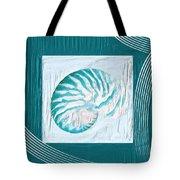 Turquoise Seashells Xxi Tote Bag by Lourry Legarde