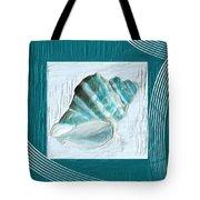 Turquoise Seashells Xxii Tote Bag