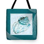 Turquoise Seashells Xxiv Tote Bag