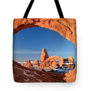 Turret Arch Frame Tote Bag