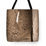 Turret Staircase Tote Bag