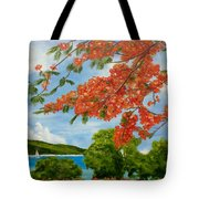 Turtle Bay Virgen Islands Tote Bag
