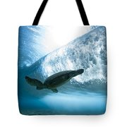 Turtle Clouds Tote Bag