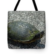 Turtle Crossing Tote Bag