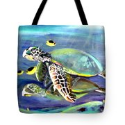 Turtle Duo Tote Bag