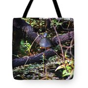 Turtle In The Glades Tote Bag
