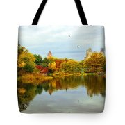 Turtle Pond 2 - Central Park - Nyc Tote Bag