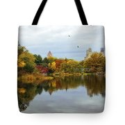 Turtle Pond - Central Park - Nyc Tote Bag