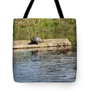 Turtle Raft Tote Bag