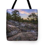 Turtle Rocks Atop Petit Jean Mountain - Arkansas Tote Bag