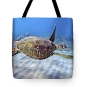 Turtle Underwater 3 Tote Bag