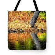 Turtles At The Edge Tote Bag