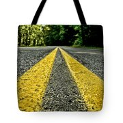 Turtle's View Of Forest Road E67 Tote Bag