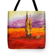 Tuscan Blast Crop Tote Bag