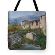 Tuscan Bridge Tote Bag