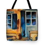 Tuscan Courtyard Tote Bag by Elise Palmigiani