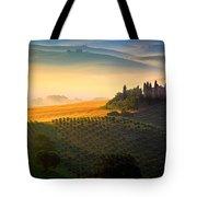 Tuscan Dawn Tote Bag by Inge Johnsson
