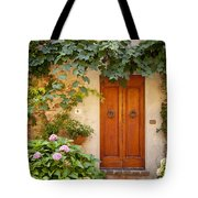 Tuscan Door Tote Bag