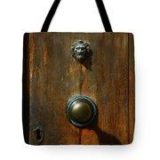 Tuscan Doorknob Tote Bag