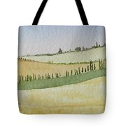 Tuscan Hillside Four Tote Bag