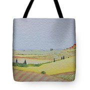 Tuscan Hillside Three Tote Bag