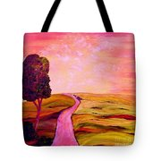 Tuscan Skies ... An Impressionist View Tote Bag
