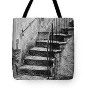 Tuscan Staircase Bw Tote Bag