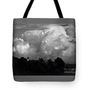 Tuscan Storm Rising From The Valley Tote Bag