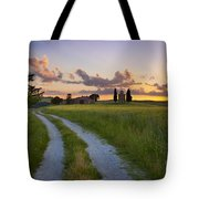 Tuscan Sunset Tote Bag by Brian Jannsen