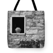 Tuscan Window And Pot Tote Bag