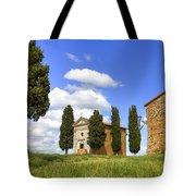Tuscany - Cappella Di Vitaleta Tote Bag