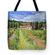 Tuscany Afternoon Tote Bag