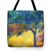 Tuscany Hill Side Shadows Tote Bag
