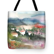 Tuscany Landscape 01 Tote Bag