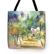 Tuscany Landscape 05 Tote Bag