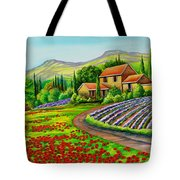 Tuscany Lavender  Tote Bag
