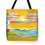 Tuscany Sea Tote Bag