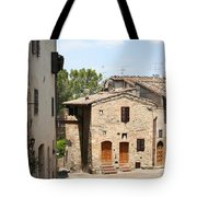 Tuscany Street Tote Bag